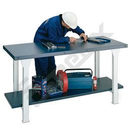 Mesas de trabajo industrial en acero pintado. Imagen #0