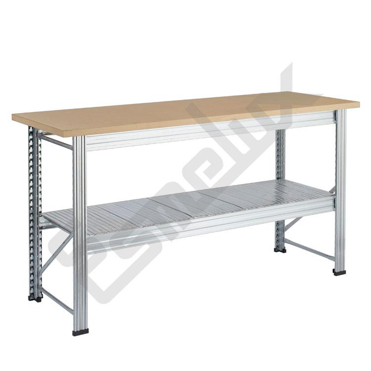 Mesas de trabajo UR con encimera de madera 30 mm. Imagen #3