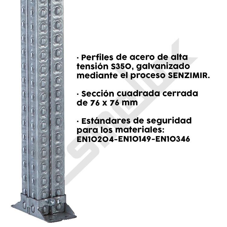 Puerta basculante de seguridad modelo TS. Imagen #1