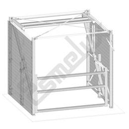 Puerta basculante de seguridad modelo TS. Imagen #4