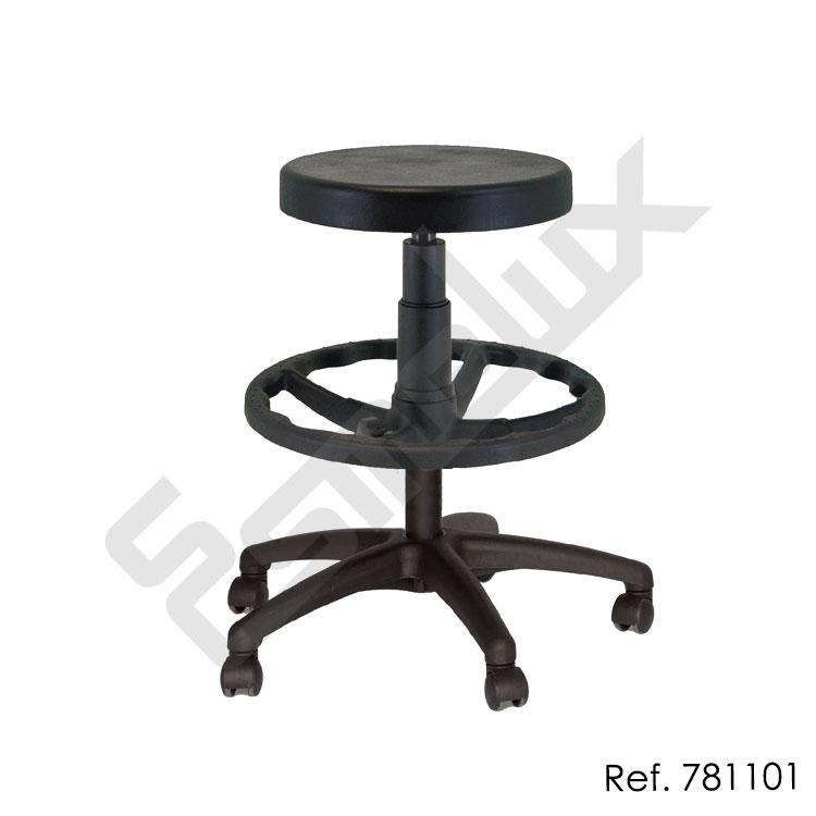 Taburete de laboratorio basic referencia 781101 for Sillas para trabajar