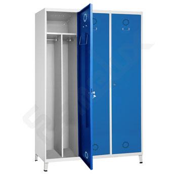 Taquilla Soldada 1 puerta por columna - 400 mm