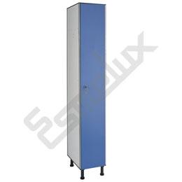 Taquilla fenólica 1x1, 1 puerta de 300 mm