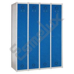 Taquillas Serie 1 con 4 columnas, 1x4 = 4 puertas