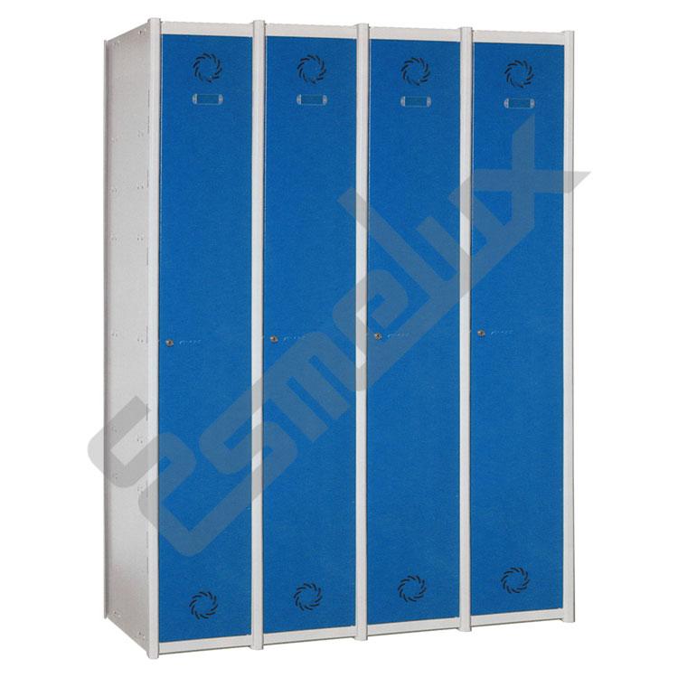 Taquillas Serie 1 con 4 columnas, 1x4 = 4 puertas. Imagen #0