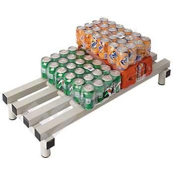 Tarima plataforma alimentaria de resina plástica