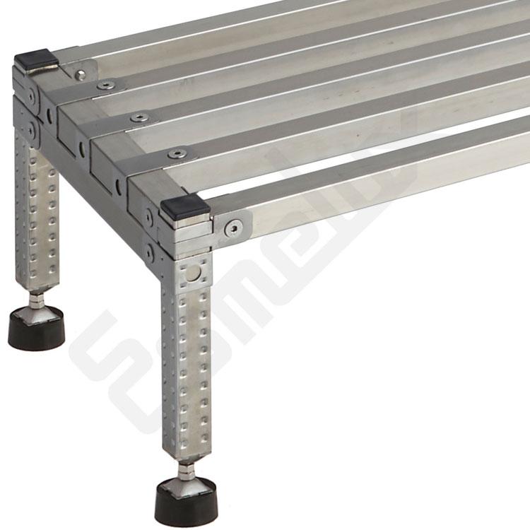 Tarima plataforma inoxidable SX con base regulable. Imagen #2