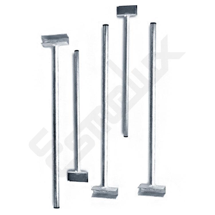 Separadores Para Estanterias Metalicas.Tubo Separador Vertical De 500 Mm