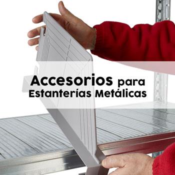 Accesorios y complementos de estanterías