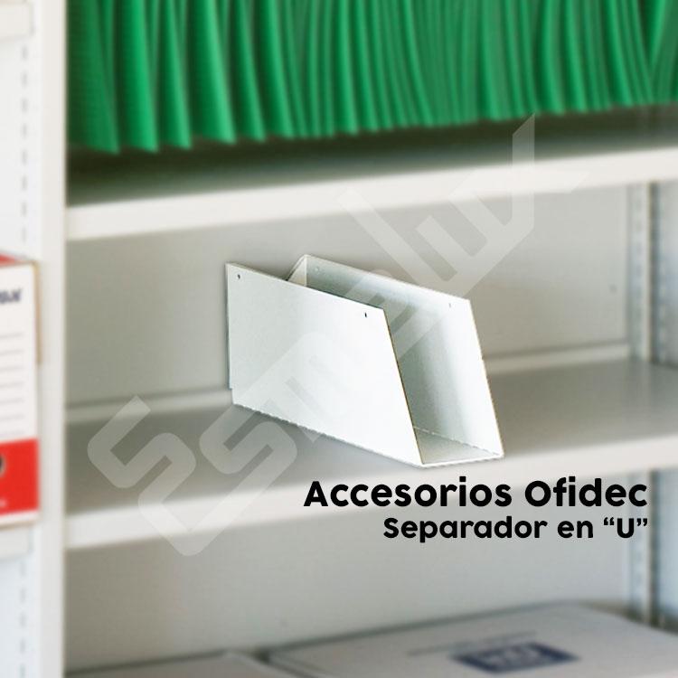 Accesorios estanterías metálicas OFIDEC. Imagen #1