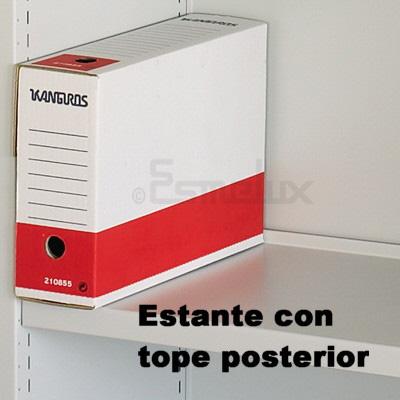 Estanterías OFIDEC CON Fondo Posterior. Imagen #6