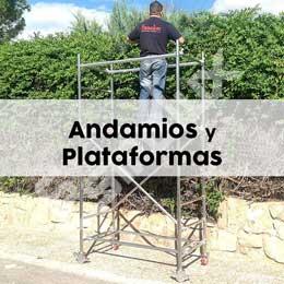 Andamios y Plataformas para trabajos en altura