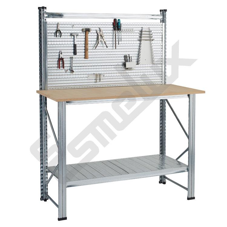 Bancos para trabajo en talleres mesas met licas esmelux for Mesas de trabajo para taller