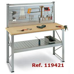 Mi casa decoracion mesa de trabajo taller mecanico de for Mesas de trabajo para taller
