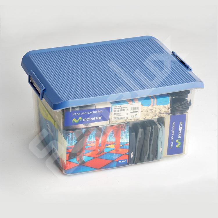 Caja Multiuso Transparente con Tapa  - Esmelux. Imagen #3
