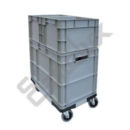 Bases con ruedas para cajas Eurobox. Imagen #2