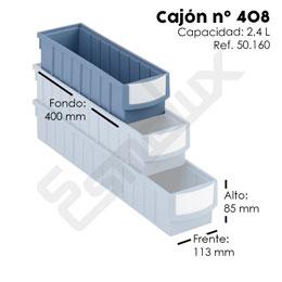 Cajón tipo RGB nº 408