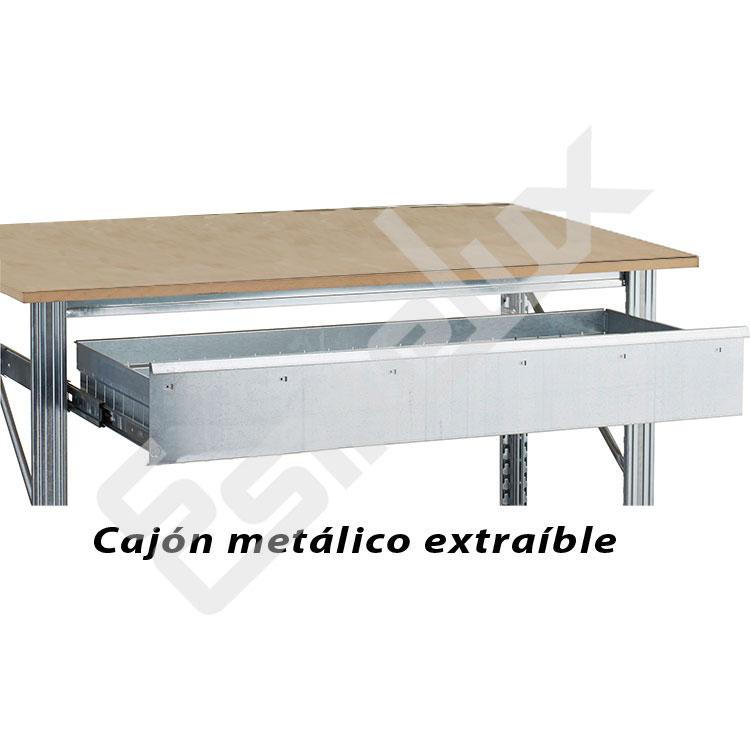 Cajones extraíbles para estanterías metálicas. Imagen #2