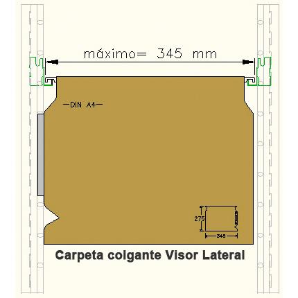Carpetas colgantes con visor lateral - Esmelux. Imagen #1