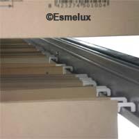 Estantes metálicos para carpetas colgantes. Imagen #2