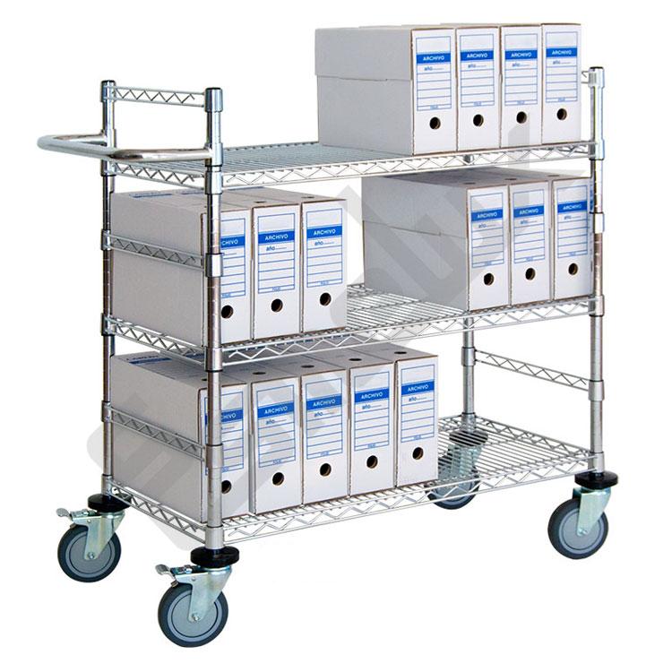 Carrito de reparto para archivos referencia 257041 for Carritos con ruedas para cocina