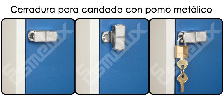 Cerraduras de taquillas - Pomo con cerradura ...