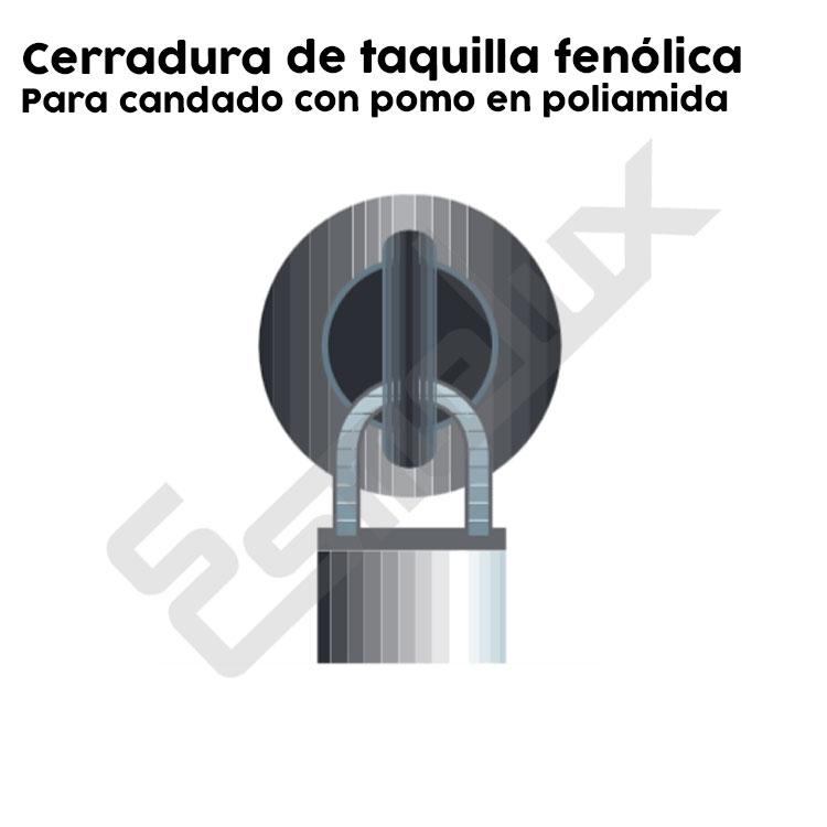 Taquillas Fenólicas perfiladas MG Serie 2. Imagen #5