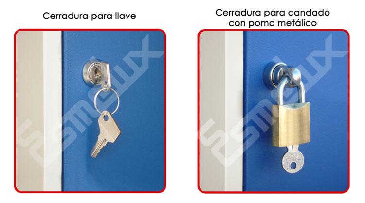 Cerraduras de Taquillas Metálicas. Imagen #5