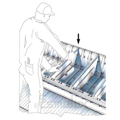 Estantes con cestones y divisores. Imagen #1