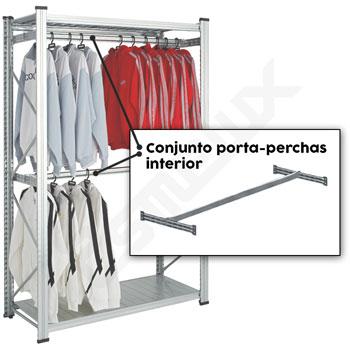 Conjunto UR porta-perchas interior