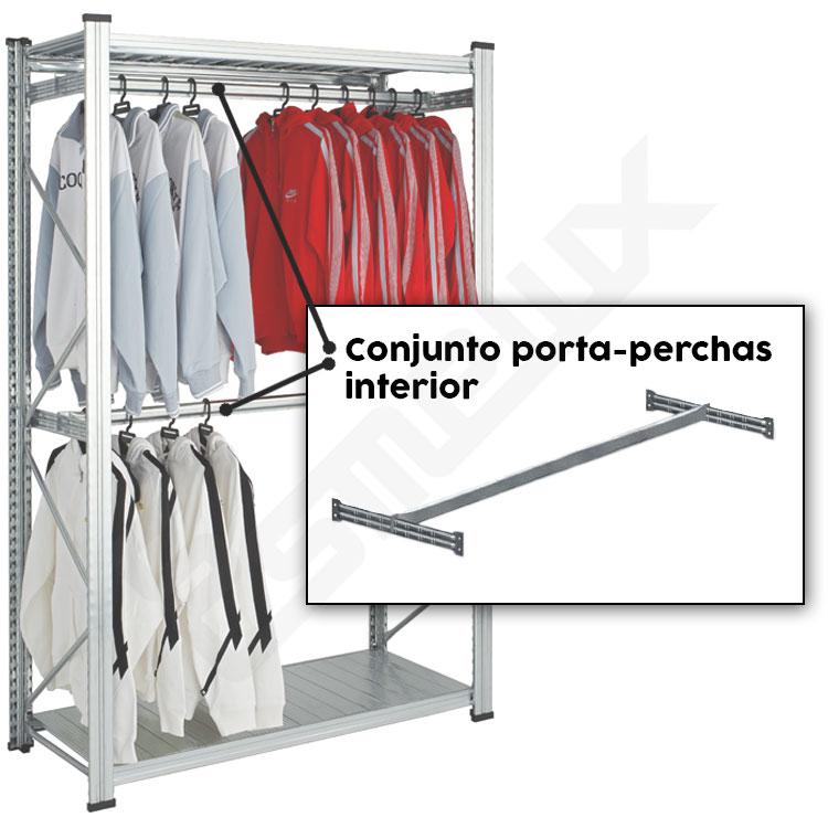 Conjunto UR porta-perchas interior. Imagen #0