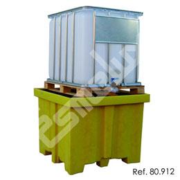 Cubeta colectora polietileno 1 depósito