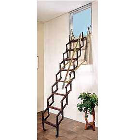 Escaleras de pared tipo fuelle for Escaleras escamoteables