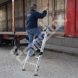 Escalera TRUCK de acceso a camiones. Imagen #3