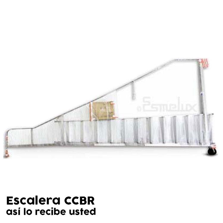Escalera de plataforma con ruedas CCBR. Imagen #4