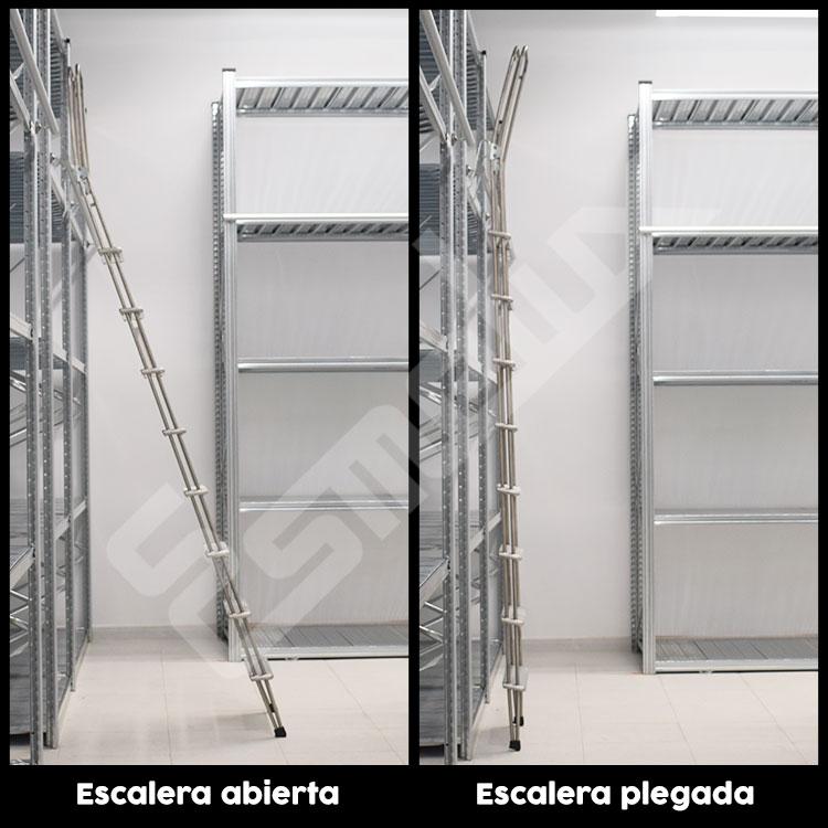 Escalera Adosada C1 con ganchos. Imagen #2