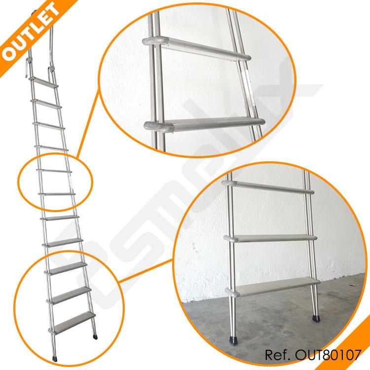 Escalera Adosada C1 con ganchos en OUTLET. Imagen #1