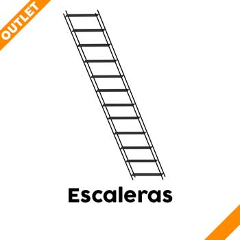 Escaleras en OUTLET