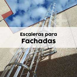 Escaleras fijas para fachadas