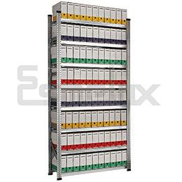Estanterías metálicas para archivadores A-Z. Imagen #7