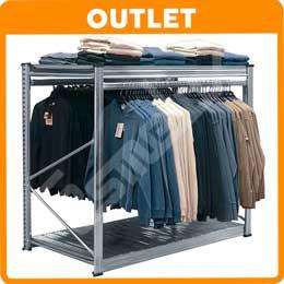 OUTLET Expositor colgador Especial Textil