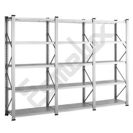 Estanter as met licas galvanizadas 15 estantes - Precio estanterias metalicas ...