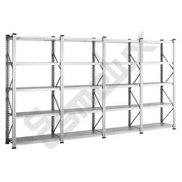 Estanterías Metálicas Galvanizadas 20 estantes