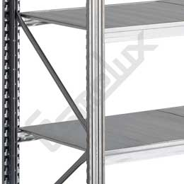 Estanterías Metálicas Galvanizadas 10 estantes. Imagen #1
