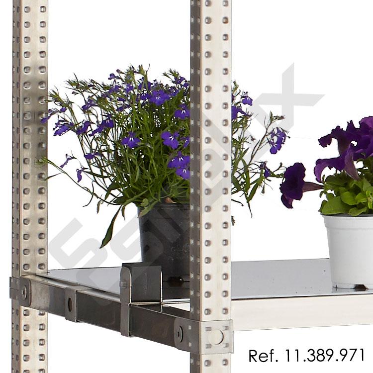 Estanter a expositora para tiendas de plantas flores viveros - Estanteria para plantas ...