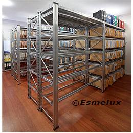 Estanter as met licas para archivadores libros - Estanterias metalicas para libros ...