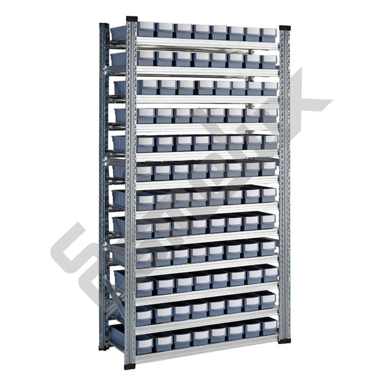 Estanter as met licas galvamil con cajones rgb - Estanterias modulares metalicas ...