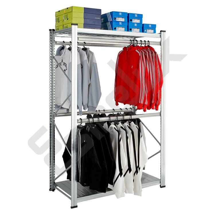 Estanterias para ropa cheap armario grande de la ropa con - Ikea cubo ropa ...