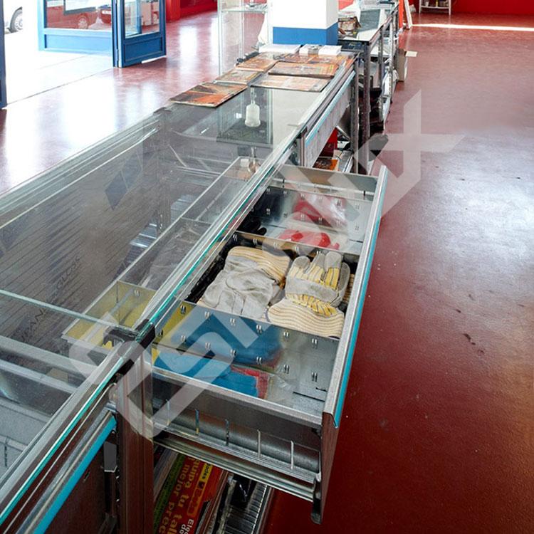 Cajones extraíbles para estanterías metálicas. Imagen #5