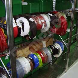 Estanterías metálicas para bobinas. Imagen #1
